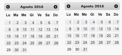 Calendario Prenotazioni Alberghiere.Widget Php Booking Hotel